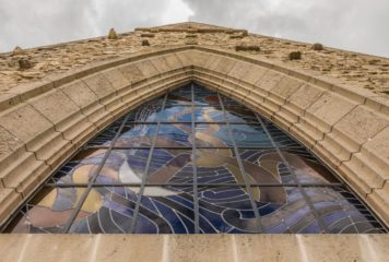 Inauguration des vitraux de l'Eglise